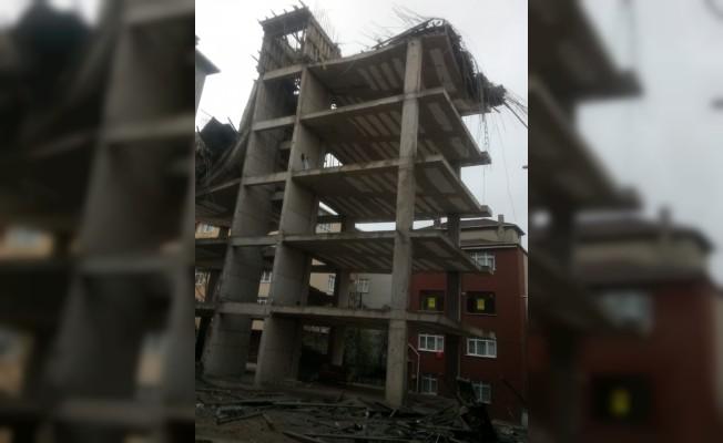 Tuzla'da inşatta çökme