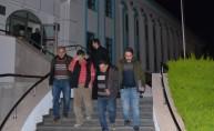 Kaçak kazı yaparken yakalanan 2 şüpheli tutuklandı