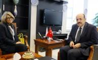 Portekiz Büyükelçisinden YÖK Başkanı Saraç'a ziyaret