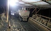 Amasya'da maden ocağında göçük!