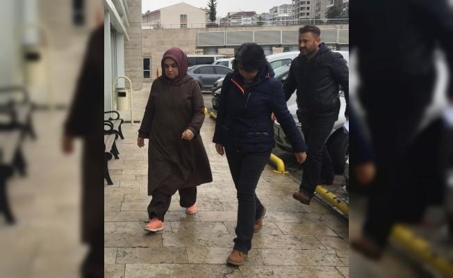Edirne'de aranan FETÖ şüphelisi kadın Samsun'da yakalandı