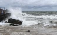 Meteoroloji'den Ege Denizi'nde fırtına uyarısı