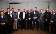 ANAP Genel Başkanı Çelebi, Binali Yıldırım'ı ziyaret etti