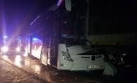 Erzincan'da trafik kazası: 11 yaralı