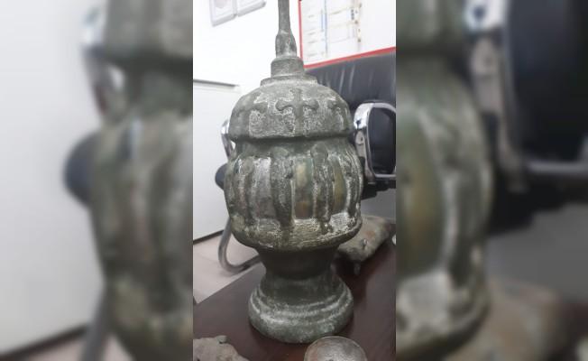 Kütahya'da tarihi eser operasyonu