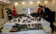 Mardin'deki silah ve tarihi eser operasyonu