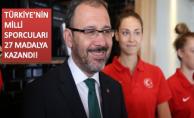 BAKAN KASAPOĞLU'NDAN EYOF 2019 TEBRİĞİ!