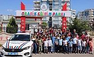 Kuran kursu öğrencilerine trafik eğitimi!