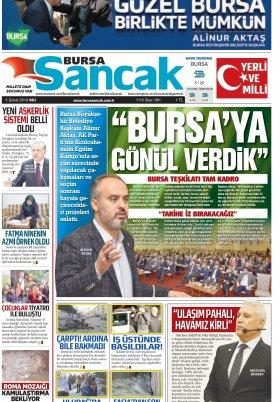 BURSA SANCAK GAZETESİ - 05.02.2019 Manşeti