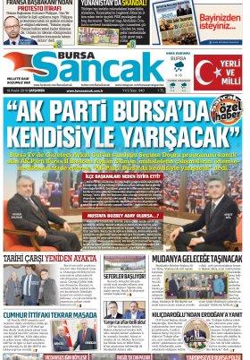 BURSA SANCAK GAZETESİ - 19.12.2018 Manşeti