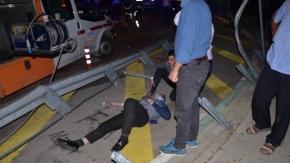 Bursa'da korkunç facia! Yolcu otobüsü devrildi... 1 ölü 27 yaralı