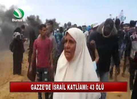 GAZZE'DE İSRAİL KATLİAMI: 52 ÖLÜ