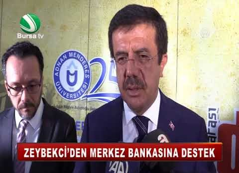 ZEYBEKCİ'DEN MERKEZ BANKASINA DESTEK