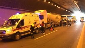 GÜNCELLEME - Anadolu Otoyolu'nda zincirleme trafik kazası