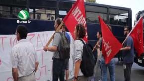 Midilli Adası'nda sığınmacı protestosu