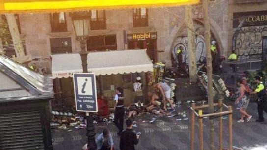 Barcelona'da araçlı saldırı